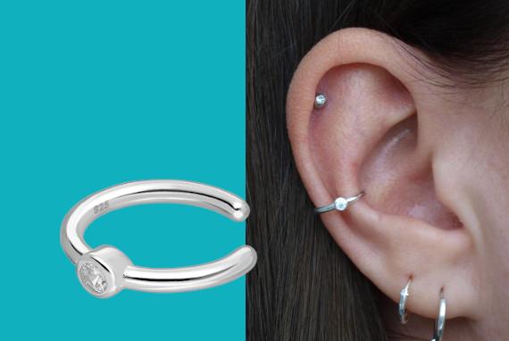 Banner ear cuff zirkonia EIP01-01-00351 8720514750216