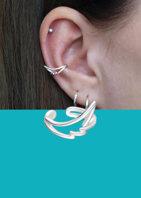 Banner ear cuff vleugel EIP01-01-00701 EIP01-01-00702 mobile