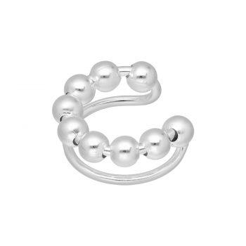 Ear cuff ballen zilver EIP01-01-00711 8720514750476