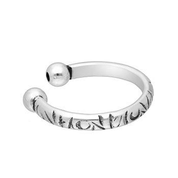 Ear cuff zilver geoxideerd EIP01-01-00641 8720514750391