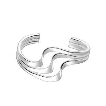 Ear cuff zilver golvend EIP01-01-00511 8720514750261
