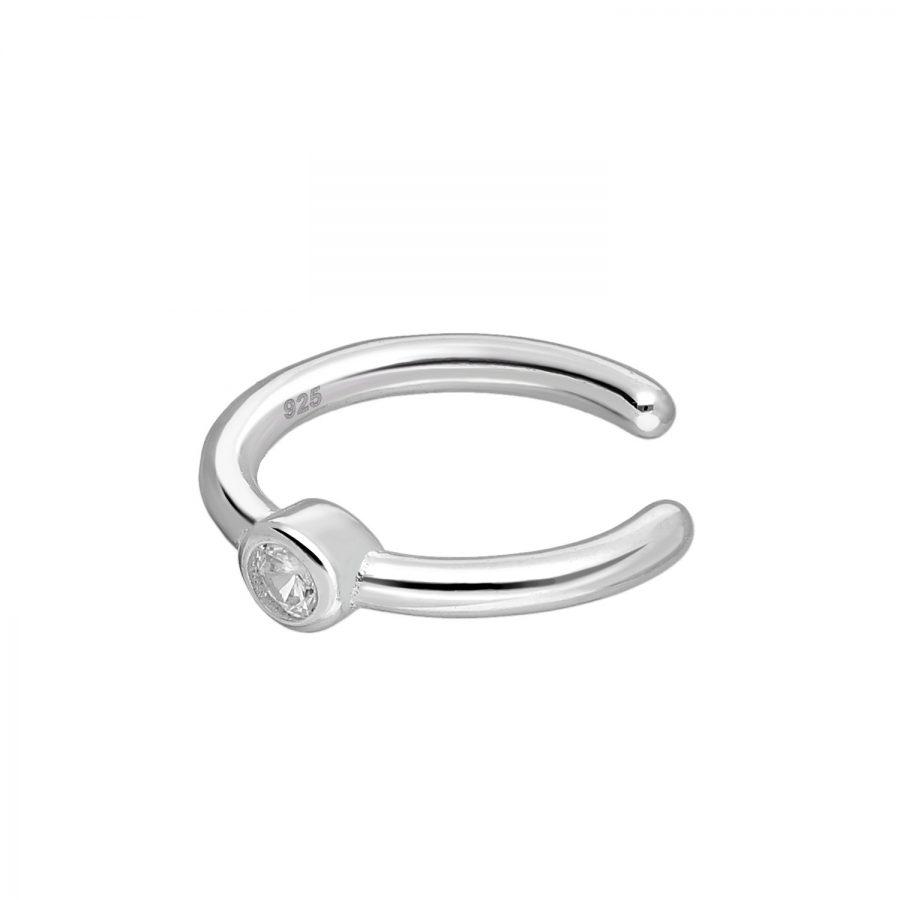 Ear cuff zirkonia zilver EIP01-01-00351 8720514750216